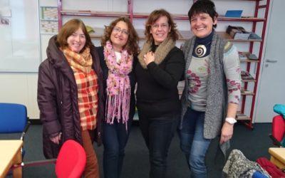 Portugiesische Lehrerinnen informieren sich über Inklusion in Biberach