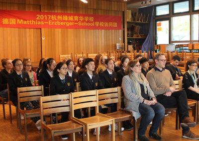 Austausch China