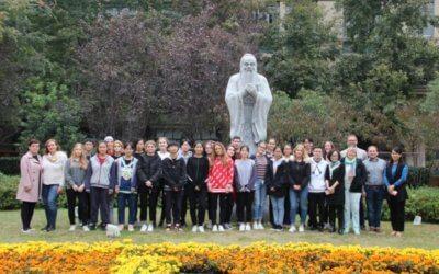 Stäbchen, Algen und Kung-Fu – Schüler besuchen China