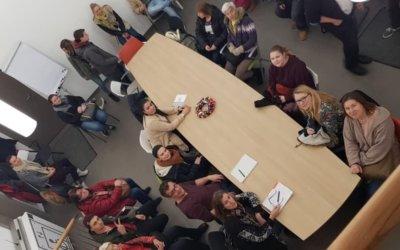 Fachschüler der Altenpflege besichtigen das LebensPhasenHaus in Tübingen