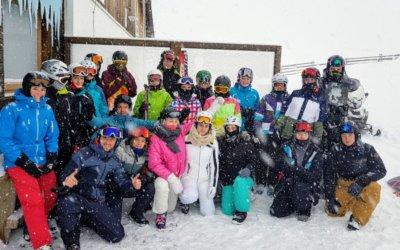 Die erste Schneesport Exkursion war ein voller Erfolg